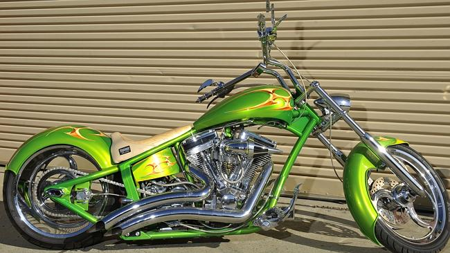 The Blade by Snake Charmer Choppers